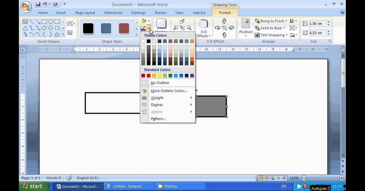 Cara Menggabungkan Gambar Dan Tulisan Di Word - Tempat ...
