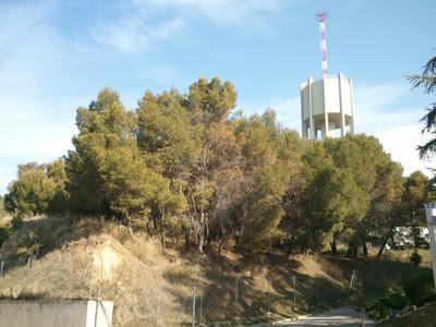 Vista actual de El Montecillo, dentro de las instalaciones del Ciemat.-