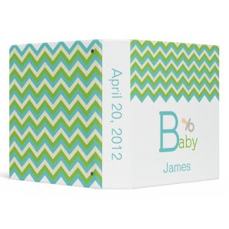 Baby Keepsake Binder