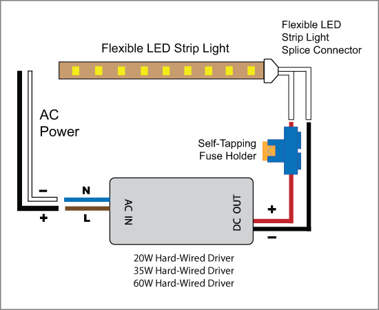 Led Wiring Diagram 12v - Wiring Diagram Schemas