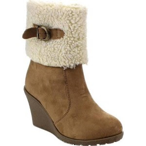 Reneeze Janice Wedge Bootie