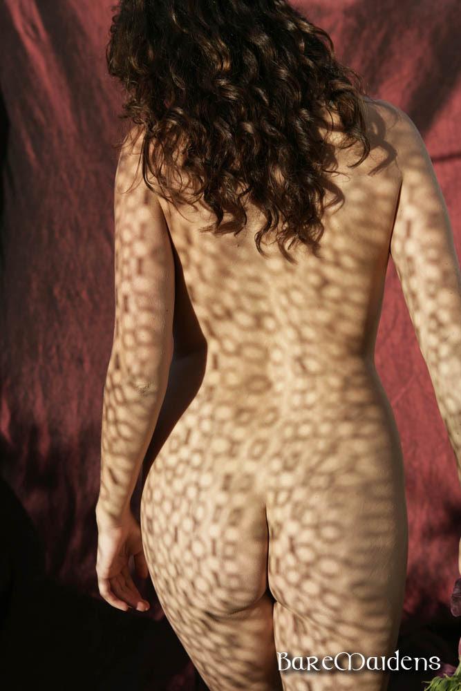 La espalda de Betcee.
