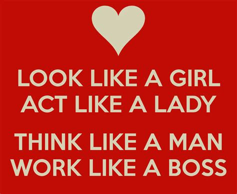 Think Like Man Act Like Lady Quotes