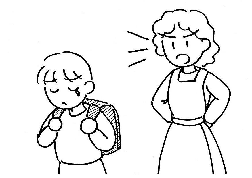使役形使役受身形 元日本語教師のイラスト集 楽天ブログ