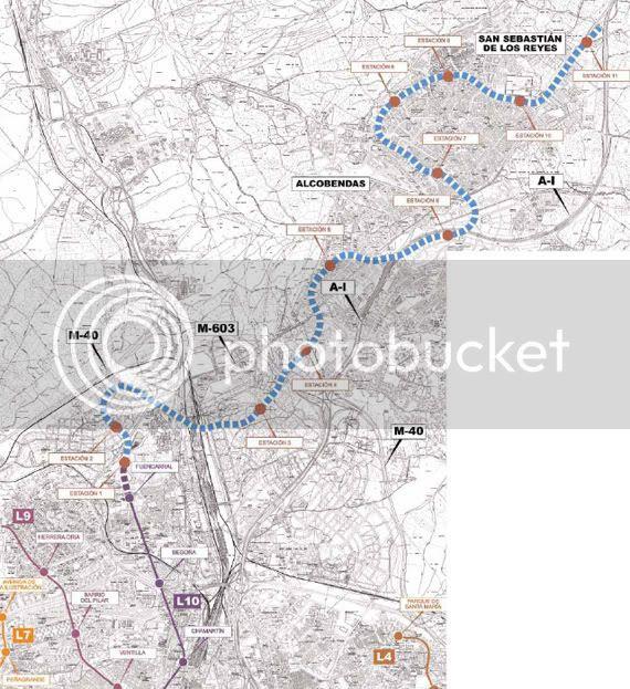 plano de Metro Norte