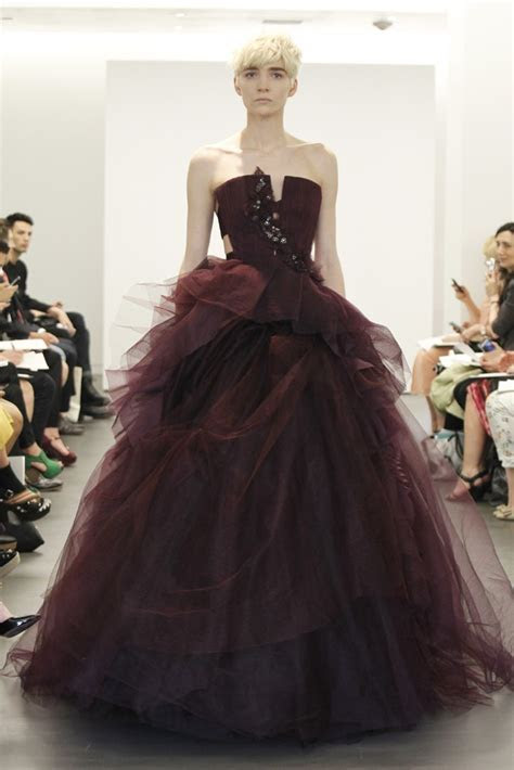 2013 wedding dress trend two tone bridal gowns Vera Wang