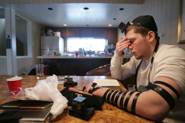 Hasidic Jewish Boxer