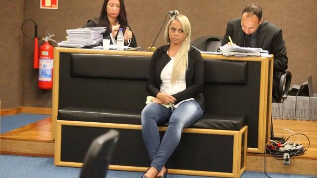 Adriana já começou a ser julgada