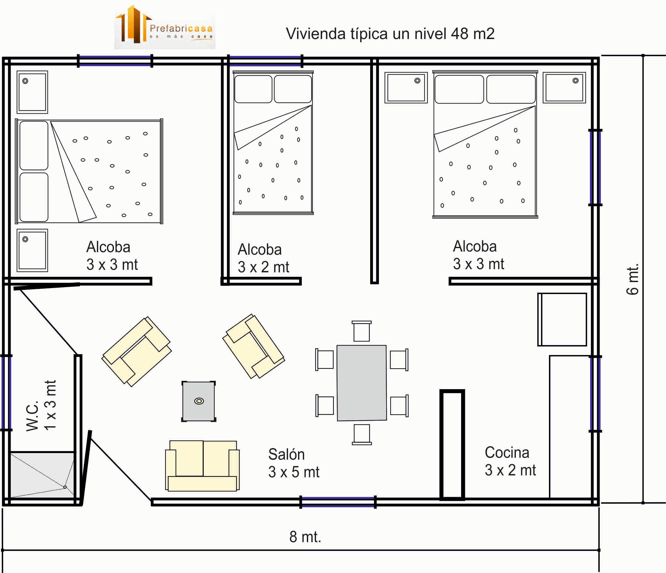 Casas de madera prefabricadas casas prefabricadas con planos - Planos de casas de madera gratis ...