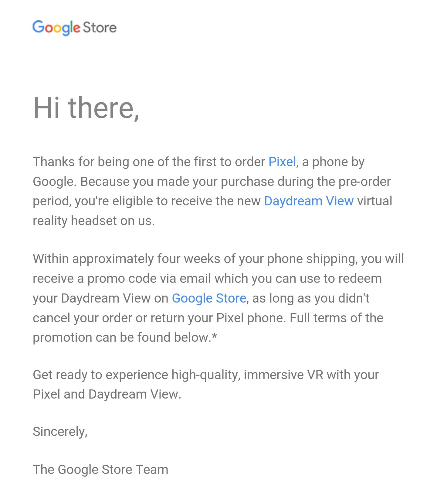 Suggestions and tips for (pre)ordering your Pixel phone