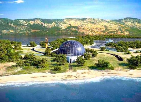 Η φουτουριστική βίλα της Naomi Campbell στην Τουρκία (4)