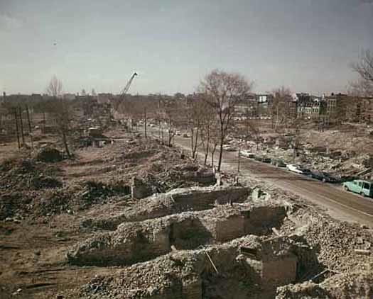 Mill Creek Valley demolition 1960 WHMC 03