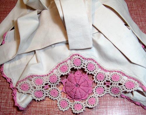 rose apron
