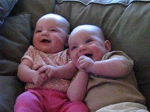 Cute Twin Babies Hailey And Eleanor From Birth To 1 Years Old