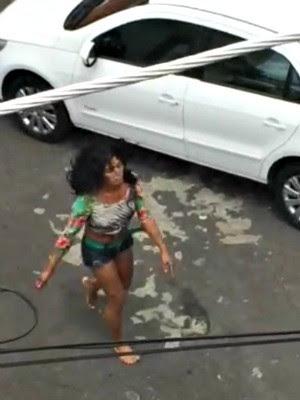 Travesti foi flagrado matando a jovem (Foto: Arquivo Pessoal/Reprodução)