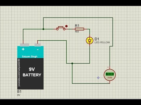 Battery Library for proteus