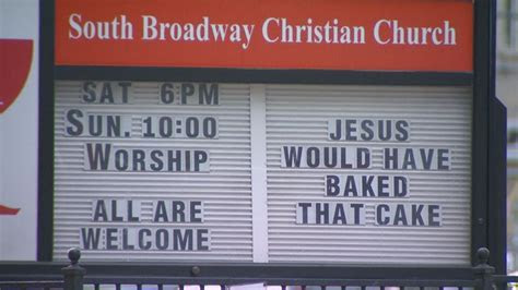 ?Jesus would have baked that cake:? Pastor explains why he