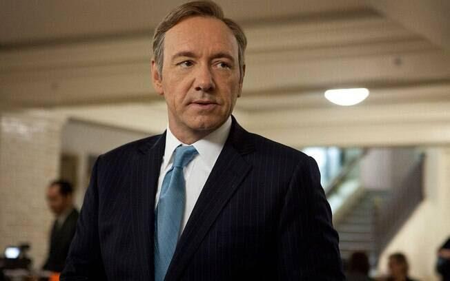 Frank Underwood (Kevin Spacey) da série House of Cards, egocêntrico, mandão e criminoso. Foto: Reprodução