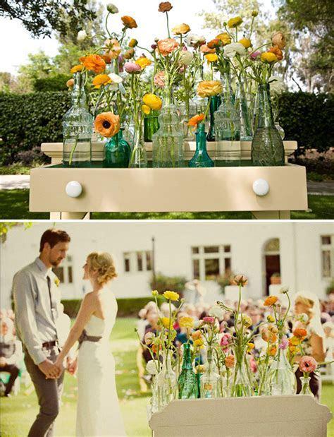 Real Wedding: Rachel   Brent's Outdoor Wedding   Green