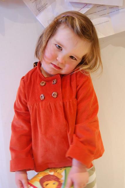 Orange Sunday Brunch Jacket