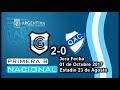 Fecha 3 - GyEJujuy 2-0 Quilmes