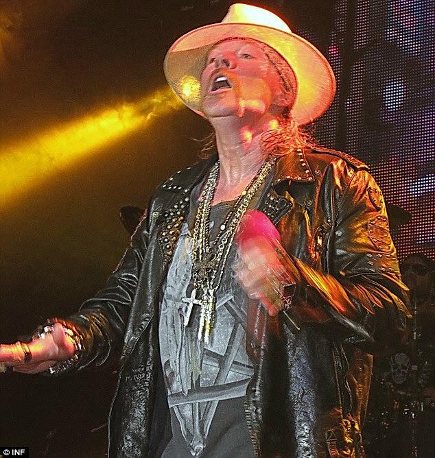 Envelhecimento roqueiro: O cantor de 50 anos de idade, realizada a uma multidão não vender-out no Hollywood Palladium