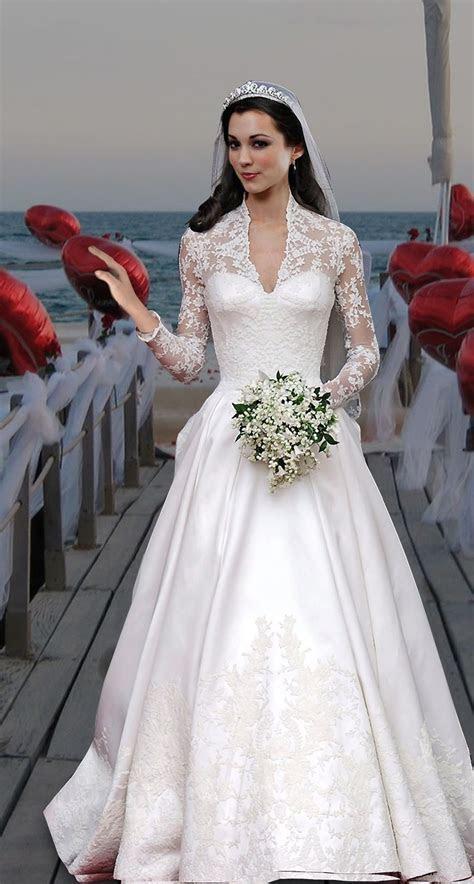 Kate Middleton's wedding dress. Designed by Sarah Burton