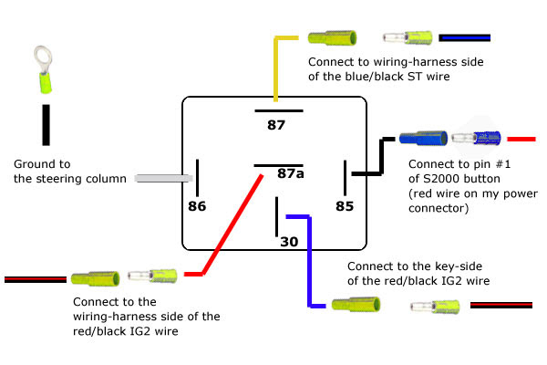 hawaiianpaperparty: How To Wire Up A 5 Pin Relay | Spotlight Wiring Diagram 5 Pin Relay |  | hawaiianpaperparty