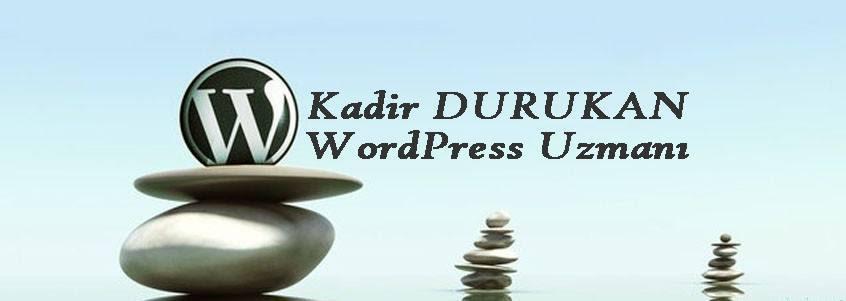 WordPress Uzmanı Kişisel Blog