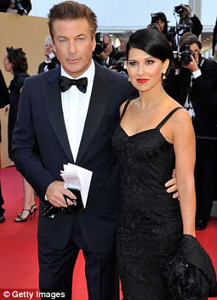 On the red carpet: Alec Baldwin and Hilaria Thomas made for a well-matched couple, while Bruce Willis and Edward Norton were cool in tuxes