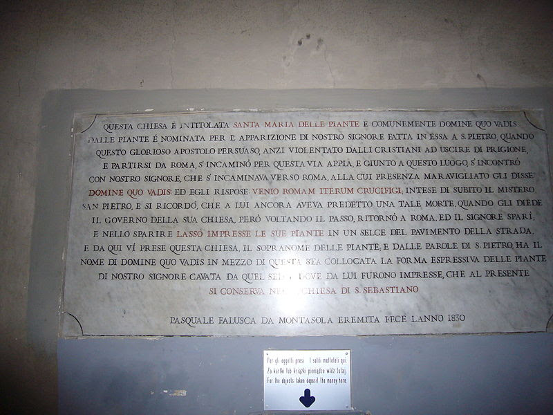 File: Quo vadis os Maria delle Piante 1070895.JPG