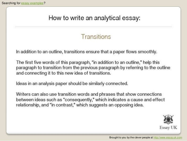 how to write a good introduction for an analytical essay