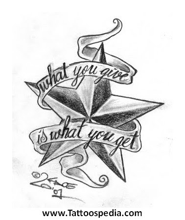 Tattoo Designs For Men With Stars 5