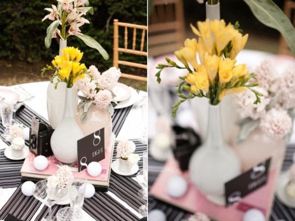 Help with wedding colors wedding Black And Pink Wedding Ideas6