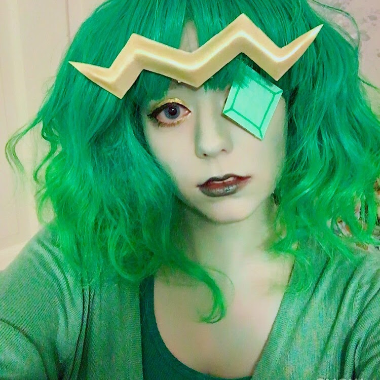 hey @stevencrewniverse can i get a full body pic of emerald so i can finish my cosplay of her? (i'm probably going to do a second makeup test now that i have my actual gem for her now - from...
