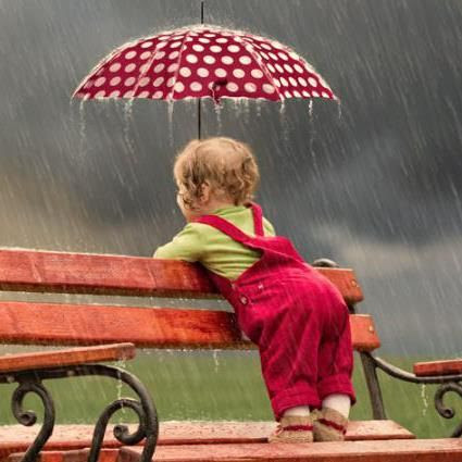 Who's afraid of a little rain?????