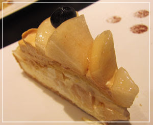 「Berry Cafe」で、新潟県産ル・レクチェのタルト♪