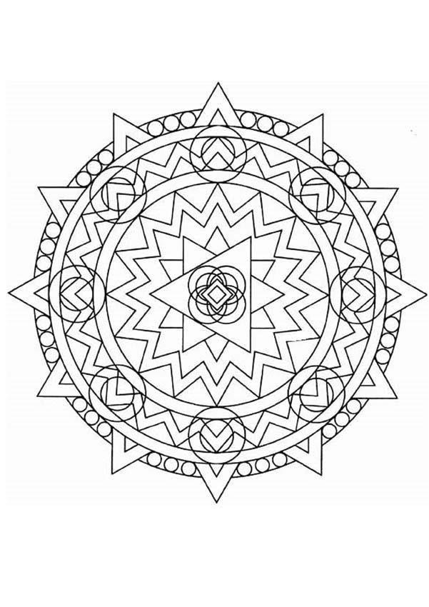 Mandalas Para Niños Para Colorear 27 Páginas De Mandalas Para