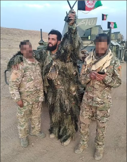 British-trained Afghan sniper is executed by Taliban in front of his family