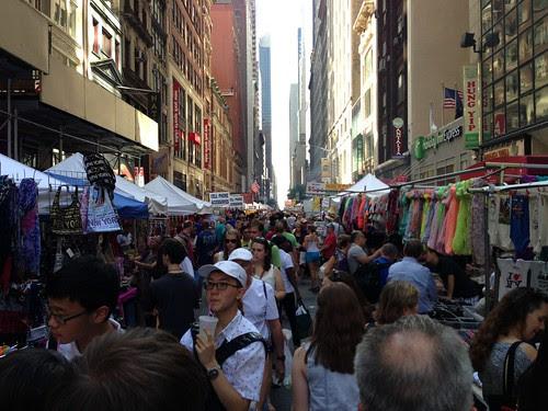 Street fair, Midtown