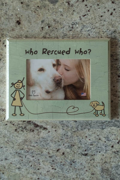 Who Rescued Whobr Dog Frame Whip City Candle Company
