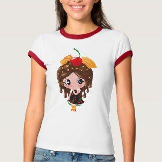Kawaii Hot Fudge Sundae Girl shirt