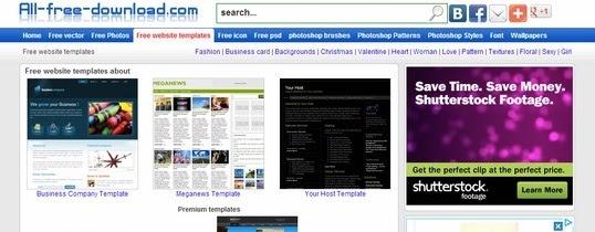 Где найти современные и красивые бесплатные html шаблоны: WebProject - программа для создания сайта