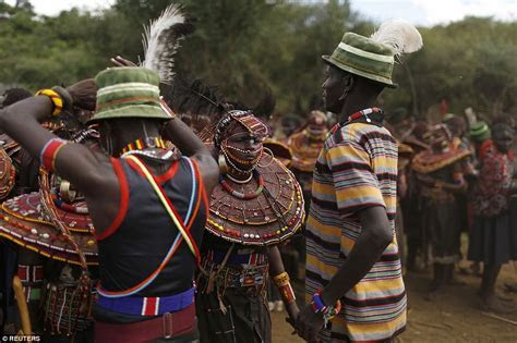 Inside the 'traditional' tribal wedding ceremony that
