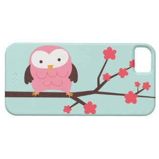 Spring Owl iPhone 5 Cases