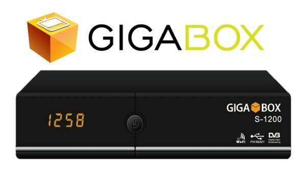 GIGABOX S1200 NOVA ATUALIZAÇÃO MODIFICADA 58W ON - 09/02/2018