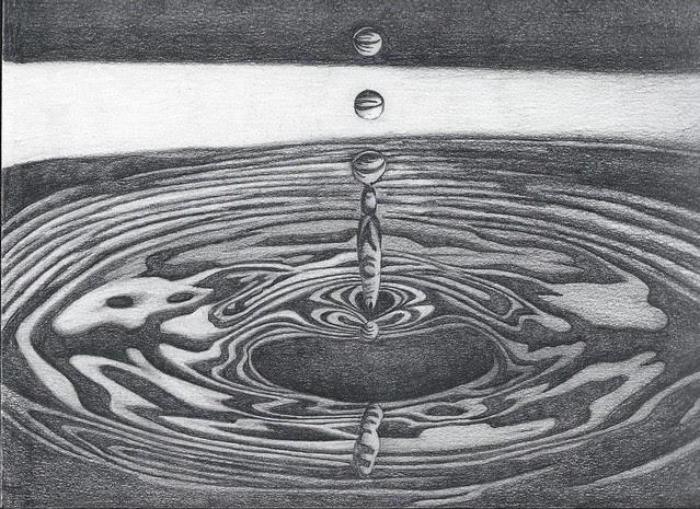 Water Drawing - pencil Flickr - Photo Sharing