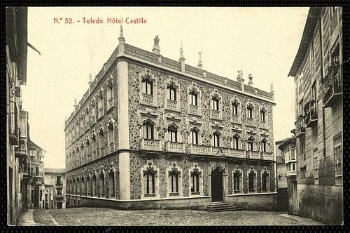 Hotel Castilla de Toledo hacia 1910
