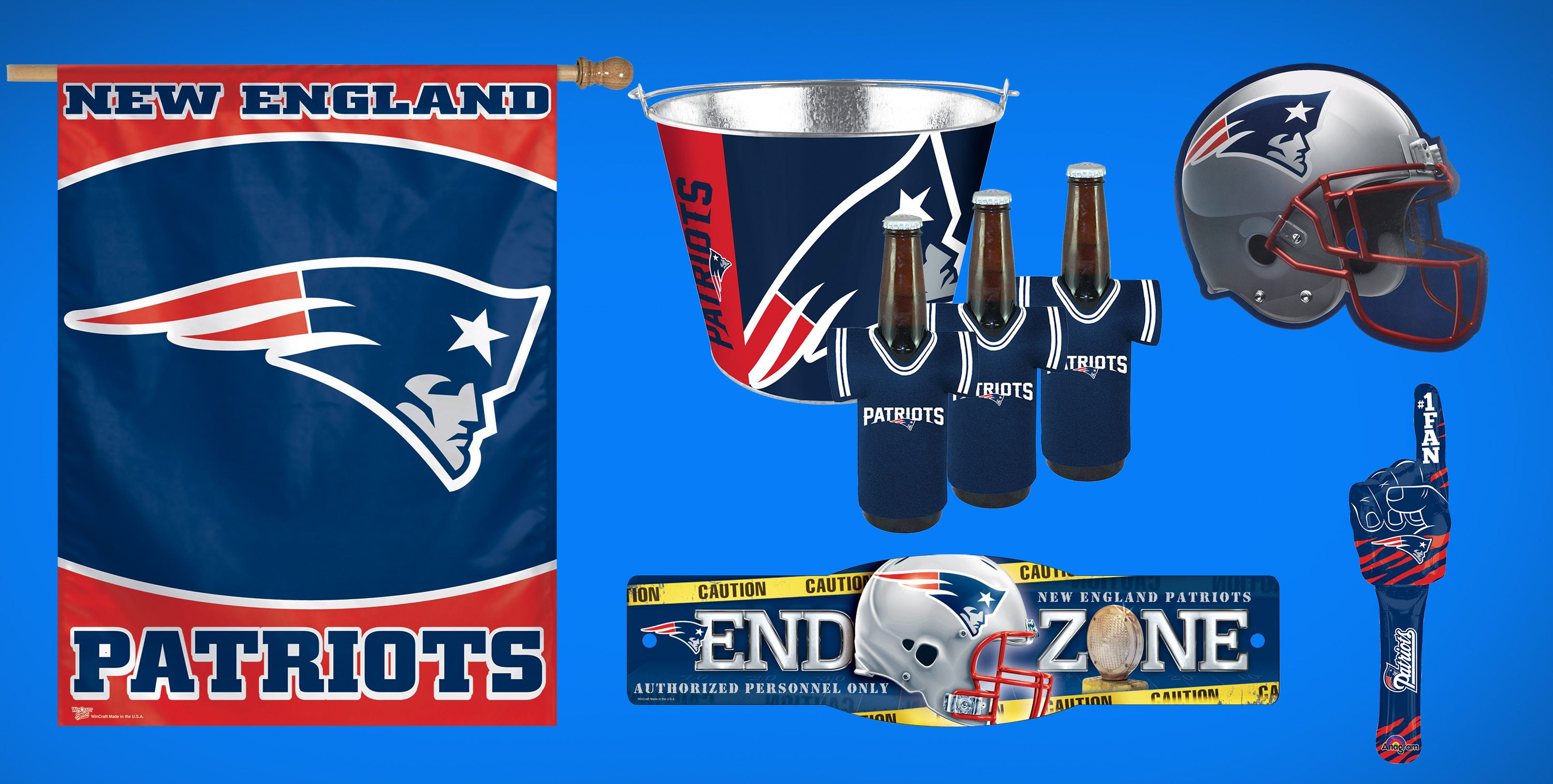 NFL New England Patriots Party Supplies, Decorations  Party Favors  Party City