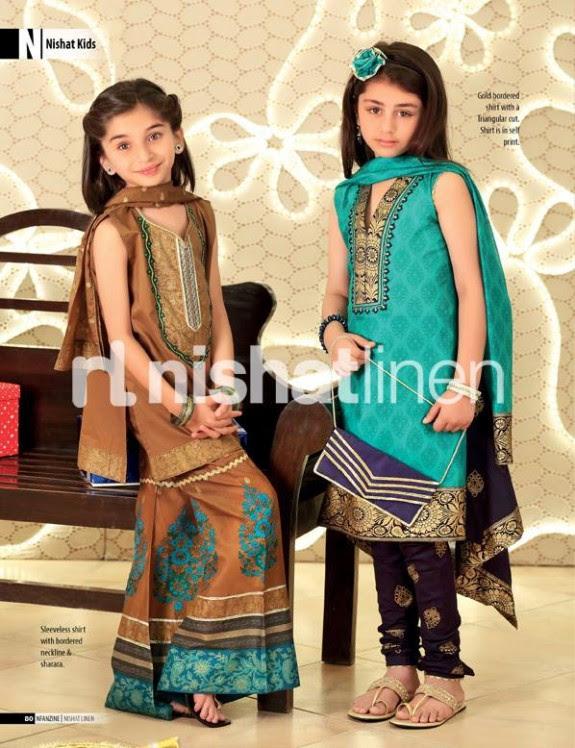 Nishat-Linen-New-Latest-Eid-Suits-Kids-Wear-Dresses-Collection-2013-11